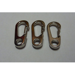 Karbinhake Wire 33mm Silver