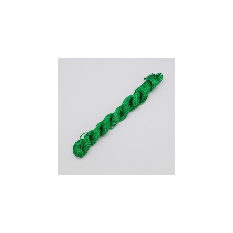 Nylontråd 1mm GREEN, 28 meter