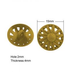 Knapp 15mm 437, Antik Guld,...