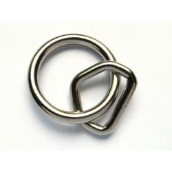 Solid svetsad O-ring 40mm...