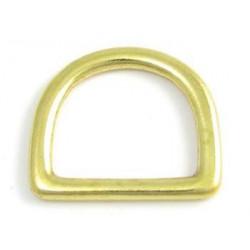 Solid svetsad D-ring Solid...