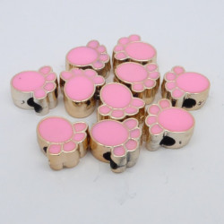 Paws Enamel, Pink, 10-pack
