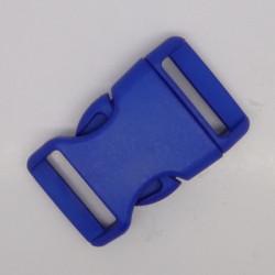 Snäpplås 25mm C1021 Böjd BLÅ