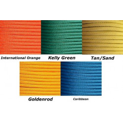 Paracord Set 15 (25ftx5st)...