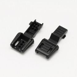 Zipper Pull Svart 10-pack