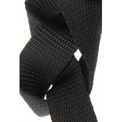 15mm BLACK Polypropylen Webbing