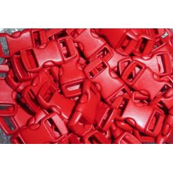 Snäpplås 10mm Röd 5-pack