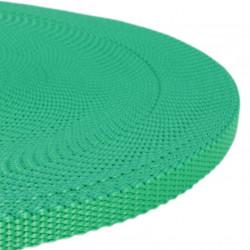 10mm GRÖN Polypropylen Webbing