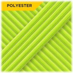 4mm Poly, Neon Green...