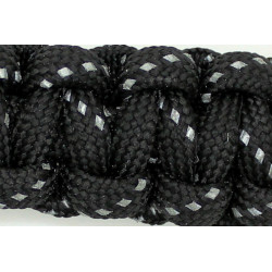 Paracord US400 Reflex Svart 30meter