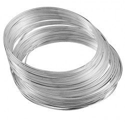 Memory Wire 1,0mm 55mm 10 varv