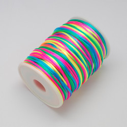 Nylontråd 2mm COLORFUL(11), 100yards rulle