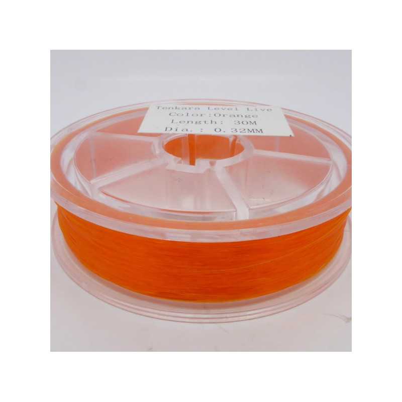 Tenkara Level Line Orange 0,32mm