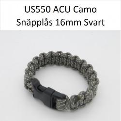 Paracord Armband 22cm ACU Camo