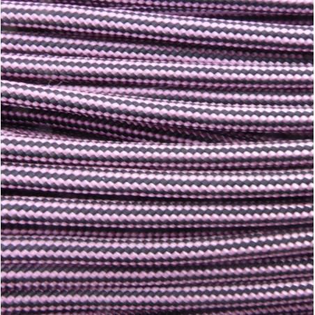 ROSE PINK & BLACK STRIPE (142) 550 Type III Commercial
