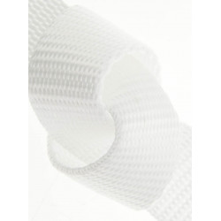 20mm WHITE Polypropylen Webbing