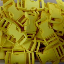 Lagerstädning/Snäpplås 25mm Gul