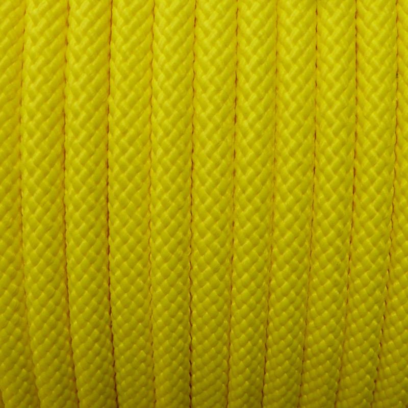8mm Poly Pro Utility Rope, Neon Yellow